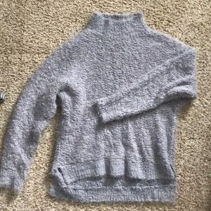 Super soft and fuzzy light purple trouve sweater